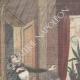 DÉTAILS 01 | Une femme de chambre tuée par imprudence à Coni - Piémont - Italie - 1898