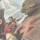 DETAILS 03   Accident in the Alps - Veisivi peak - Canton of Valais - Switzerland - 1898