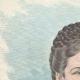 DÉTAILS 01   Portrait de Élisabeth Impératrice d'Autriche (1837-1898)