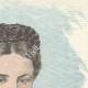 DÉTAILS 03   Portrait de Élisabeth Impératrice d'Autriche (1837-1898)