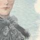 DÉTAILS 04   Portrait de Élisabeth Impératrice d'Autriche (1837-1898)