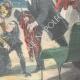 DÉTAILS 04 | Assassinat de Élisabeth Impératrice d'Autriche à Gênes - Italie - 1898