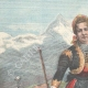 DETAILS 01 | Portrait of Queen Margherita of Savoy in Gressoney - Costume of the Aosta Valley - 1898