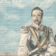 DETAILS 01 | Portrait of Umberto I of Italy and Wilhelm II of Germany in Venice - Italy - 1898