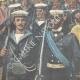 DÉTAILS 02 | Révolte des Boxers - Débarquement de marins italiens à Pékin - Chine - 1898