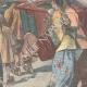 DÉTAILS 04 | Révolte des Boxers - Débarquement de marins italiens à Pékin - Chine - 1898