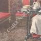 DÉTAILS 02 | Portrait du Pape Léon XIII dans son cabinet de travail - Vatican - 1898