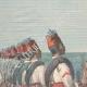 DETAILS 01   French gunboat Scorpion lands on the coast of Rahayto - Eritrea - 1898