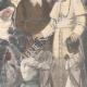 DÉTAILS 02 | Le Pape reçoit missionnaires et indigènes d'Abyssinie - Vatican - 1898