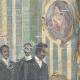 DETALLES 01   El rey recibe al príncipe abisinio Gugsa, sobrino de Menelik II - Italia - 1898