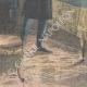 DETALLES 05   El rey recibe al príncipe abisinio Gugsa, sobrino de Menelik II - Italia - 1898