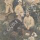 DÉTAILS 02 | Guerre italo-éthiopienne - Maggiore Toselli et ses officiers près de Amba-Alagi - Ethiopie - 1896
