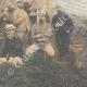 DÉTAILS 04 | Guerre italo-éthiopienne - Maggiore Toselli et ses officiers près de Amba-Alagi - Ethiopie - 1896