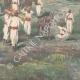 DETAILS 04   Italo-Ethiopian War - Defeat of lieutenant Scala - Amba Alagi - Ethiopia - 1896