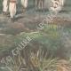 DETAILS 06   Italo-Ethiopian War - Defeat of lieutenant Scala - Amba Alagi - Ethiopia - 1896