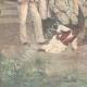DÉTAILS 05 | Bataillon de Chasseurs d'Afrique - Colonel Giuseppe Galliano et Officiers - Italie - 1896