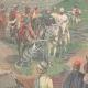 DETAILS 02   Italo-Ethiopian War - Evacuation of the Macallè fort - Ethiopia - 1896