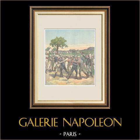 Spotkanie Galliano i Baratieri - 1896 |