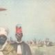 DÉTAILS 03 | Guerre italo-éthiopienne - Arrestation d'un prêtre Abyssin par nos avant-postes - Ethiopie - 1896