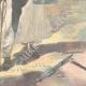 DÉTAILS 06 | Guerre italo-éthiopienne - Arrestation d'un prêtre Abyssin par nos avant-postes - Ethiopie - 1896