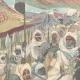 DETAILS 01   Mahdist War - An Emir Dervish and his escort to Kassala - Sudan - 1896