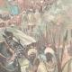 DETAILS 03   Mahdist War - An Emir Dervish and his escort to Kassala - Sudan - 1896