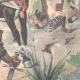 DETAILS 06   Mahdist War - An Emir Dervish and his escort to Kassala - Sudan - 1896