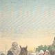 DETAILS 01   Italo-Ethiopian War - Assault of Ras Sebath Bands - Ethiopia - 1896