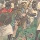 DETAILS 02   Italo-Ethiopian War - Assault of Ras Sebath Bands - Ethiopia - 1896