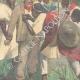 DETAILS 04   Italo-Ethiopian War - Assault of Ras Sebath Bands - Ethiopia - 1896