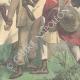 DETAILS 06   Italo-Ethiopian War - Assault of Ras Sebath Bands - Ethiopia - 1896