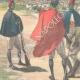 DETAILS 02 | Italo-Ethiopian War - Examination of a native by general Baldissera - Ethiopia - 1896