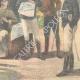 DETAILS 06 | Italo-Ethiopian War - Examination of a native by general Baldissera - Ethiopia - 1896