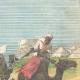 DETAILS 03   Mahdist War - Dervish horsemen cross the Anglo-Egyptian lines - 1896