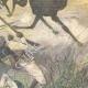 DETAILS 04   Mahdist War - Dervish horsemen cross the Anglo-Egyptian lines - 1896