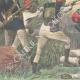 DETAILS 05   Mahdist War - Dervish horsemen cross the Anglo-Egyptian lines - 1896