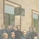 DÉTAILS 01   Le Général Baratieri devant le Tribunal Militaire à Asmara - Érythrée - 1896