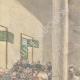 DÉTAILS 03   Le Général Baratieri devant le Tribunal Militaire à Asmara - Érythrée - 1896