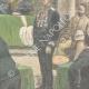 DÉTAILS 04   Le Général Baratieri devant le Tribunal Militaire à Asmara - Érythrée - 1896