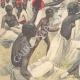 DÉTAILS 02   Arrivée de l'orthopédiste Ernesto Invernizzi parmi les Ascari mutilés à Asmara - Érythrée - 1896