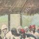 DÉTAILS 03   Arrivée de l'orthopédiste Ernesto Invernizzi parmi les Ascari mutilés à Asmara - Érythrée - 1896