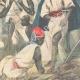 DÉTAILS 04   Arrivée de l'orthopédiste Ernesto Invernizzi parmi les Ascari mutilés à Asmara - Érythrée - 1896