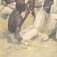 DÉTAILS 05   Arrivée de l'orthopédiste Ernesto Invernizzi parmi les Ascari mutilés à Asmara - Érythrée - 1896