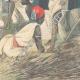 DÉTAILS 06   Arrivée de l'orthopédiste Ernesto Invernizzi parmi les Ascari mutilés à Asmara - Érythrée - 1896