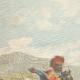 DÉTAILS 01 | Mgr Macario porte la lettre du pape à Ménélik - Addis-Abeba - Ethiopie - 1896