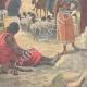 DÉTAILS 02 | Guerre italo-éthiopienne - Les soldats italiens prisonniers à Addis-Abeba - Ethiopie - 1896