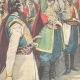 DETAILS 02 | Hurray of Montenegrin officers to King Umberto I of Italy - Montenegro - 1896