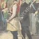 DETAILS 04 | Hurray of Montenegrin officers to King Umberto I of Italy - Montenegro - 1896