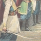 DETAILS 05 | Hurray of Montenegrin officers to King Umberto I of Italy - Montenegro - 1896
