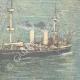 DETAILS 04 | Italian army - Warship - Cruiser Piemonte - XIXth Century